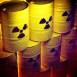 Radioactive barrel — Stock Photo #35863365