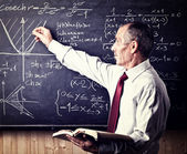Senior teacher — Stock Photo
