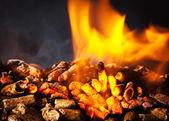 Wood pellet — Stock Photo