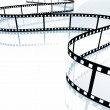Movie strip — Stock Photo