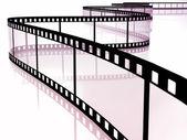 Movie strip — 图库照片