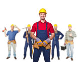 Workers team — Stock Photo