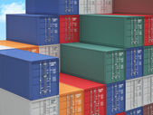 Container background — Stock Photo