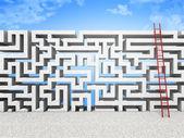 Maze wall — Stock Photo