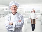 Chef — Zdjęcie stockowe