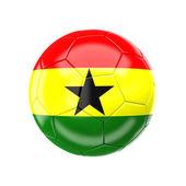 Ghana soccer ball — Stock Photo
