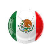 Mexico soccer ball — Foto Stock