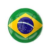 巴西足球球 — 图库照片