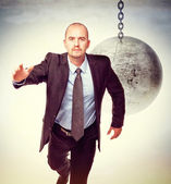 Escape from problem — Stock Photo