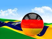 Deutscher fußball — Stockfoto
