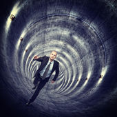 In the tunnel — Stock Photo