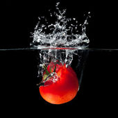 Tomato splash — Stock Photo