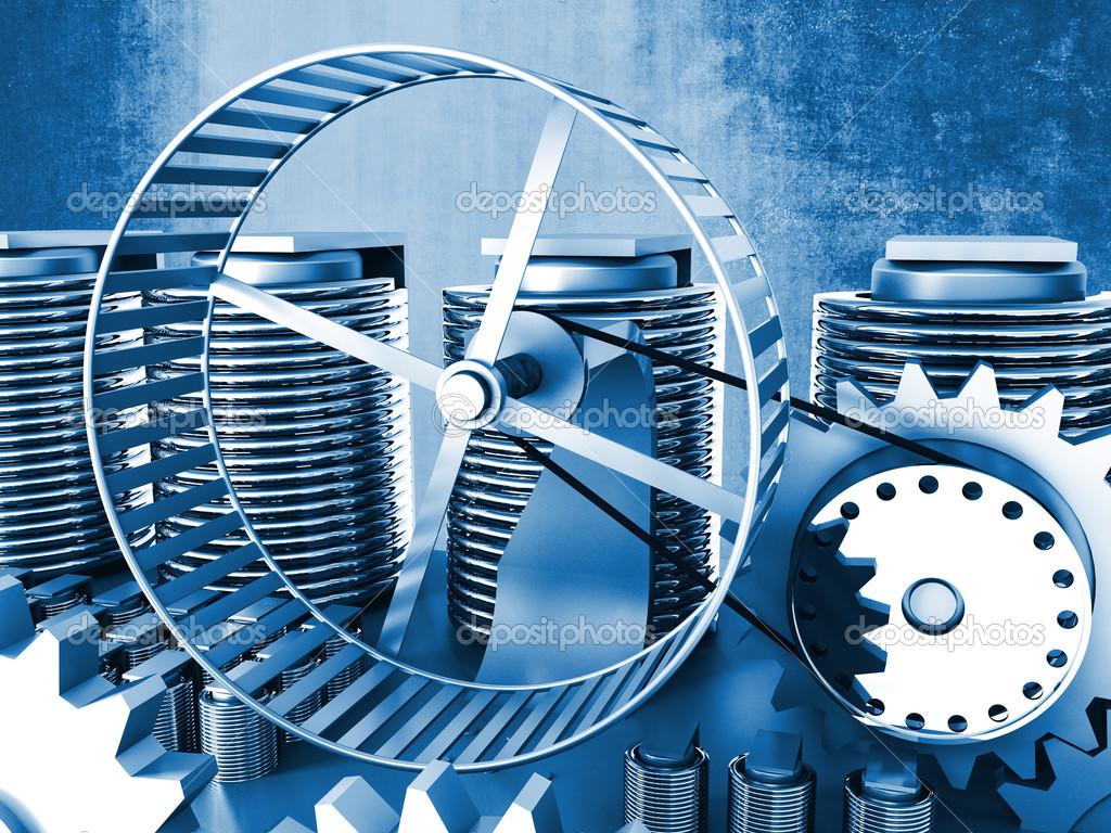 Hamster Wheel Power Hamster Wheel Power 3d Image