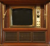 Retro Style Television Set — Stock Photo