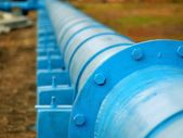 Large Oil Pipeline — Stock Photo
