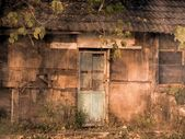Old Dilapidated Shack — 图库照片