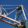 Large Gantry Container Crane — Stock Photo