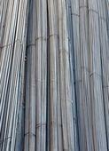 Reinforced Steel Rods — Stock Photo
