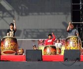 Native Drummers Perform in Taiwan — Foto Stock