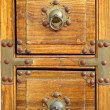 Old Chest with Bronze Corners — Stock Photo #2191877
