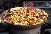 Chinese Herbal Hot Pot Dish — Stock Photo