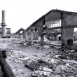 Demolished Old Factory — Stock Photo
