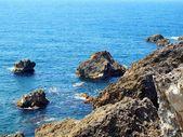 Rugged Coastline with Rocks — Stock Photo