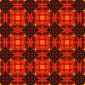 Fiery Red Tile Pattern — Stock Photo