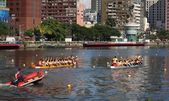 The 2013 Dragon Boat Festival in Kaohsiung, Taiwan — Stock Photo