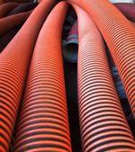 Large Sewage Pipes — Stock Photo