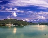 The Famous Sun Moon Lake — Stock Photo