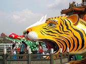 The Wannian Folklore Festival 2013 in Kaohsiung, Taiwan — Stock Photo