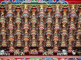 Richly Decorated Temple Ceiling — Stock Photo
