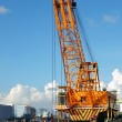 Large Dredging Crane with Scoop — Stock Photo #38441953