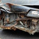 Abandoned Car Wreck — Stock Photo