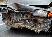 Abandoned Car Wreck — 图库照片