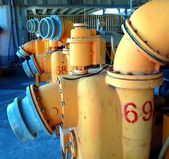 Old Wastewater Equipment — Stock Photo