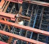 Subway Construction Site — Stock Photo