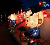 Colorful Lanterns at the 2014 Lantern Festival in Taiwan — Foto de Stock