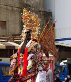 Large Religious Statue on Stilts — Stok fotoğraf