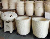 Large Flower Pots — Stock Photo