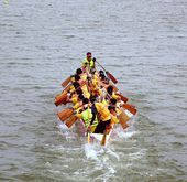 The 2014 Dragon Boat Festival in Kaohsiung, Taiwan — ストック写真