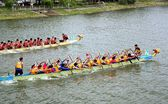 The 2014 Dragon Boat Festival in Kaohsiung, Taiwan — Stockfoto