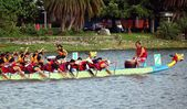 The 2014 Dragon Boat Festival in Kaohsiung, Taiwan — Stok fotoğraf