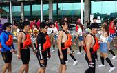 2014 Dragon Boat Races in Kaohsiung, Taiwan — 图库照片