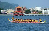 The 2014 Dragon Boat Festival in Kaohsiung, Taiwan — Stock Photo