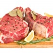 Raw meat isolated — Stock Photo #13340153