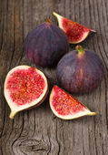 Fig fresh fruit closeup — Stock Photo