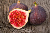 Ripe figs close-up — Stock Photo