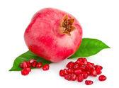 Fruta de la granada madura — Foto de Stock